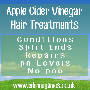 Natural Hair Care with Apple Cider Vinegar