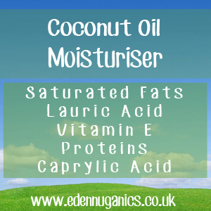Moisturise with Cocnut Oil