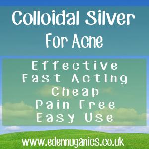 Colloidal Silver for Acne
