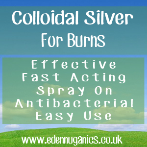 Colloidal Silver for Burns