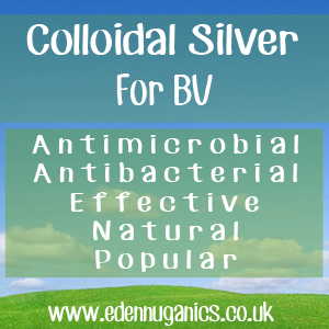 Treat Bacterial Vaginosis with Colloidal Silver