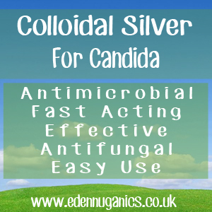Colloidal Silver for Candida