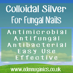 Colloidal Silver for Fungal Nail Infections