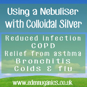 Using Colloidal Silver with a Nebuliser