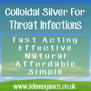 Colloidal Silver for Throat Infections