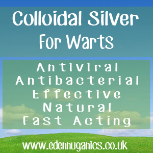 Colloidal Silver for Warts
