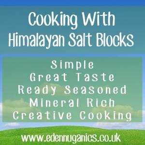 Cooking with Himalayan Salt Blocks
