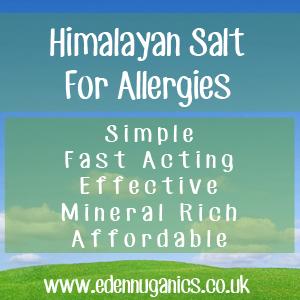 Himalayan Salt for Allergies