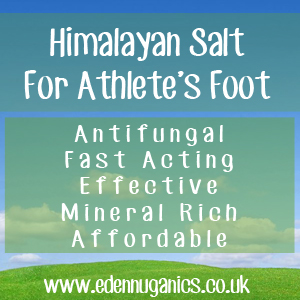 Athlete's Foot and Himalayan Salt