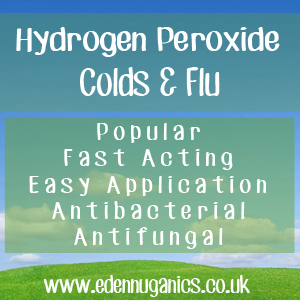 Hydrogen Peroxide for Colds and Flu