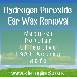Removing Ear Wax with Hydrogen Peroxide