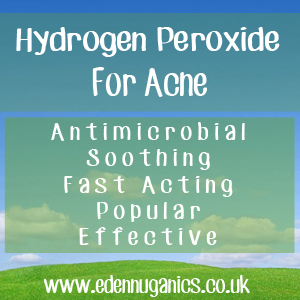 Hydroden Peroxide for Acne