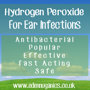 Hydrogen Peroxide for Ear Infections