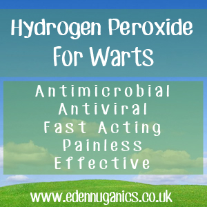 Hydrogen Peroxide for Treatment of Warts