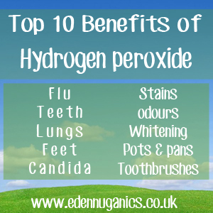 Top 10 Uses for Hydrogen Peroxide
