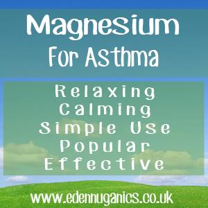 Magnesium Treatment of Asthma