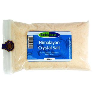 Bob's Best Fine Himalayan Crystal Salt 500g