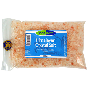 Bob's Best Coarse Himalayan Crystal Salt 500g