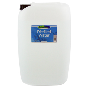 Bob's Best Distilled Water 25 Litres