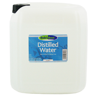 Bob's Best Distilled Water 15 Litres