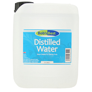 Bob's Best Distilled Water 5 Litres