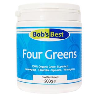 Organic Four Greens 200g