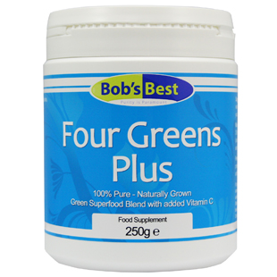 Natural Four Greens with Vitamin C 250g