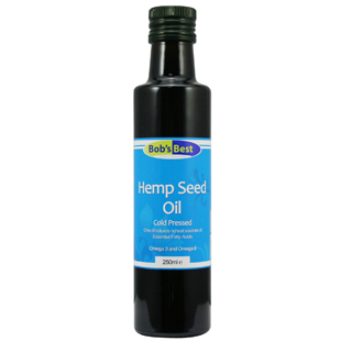 Bob's Best Hemp Seed Oil 250ml