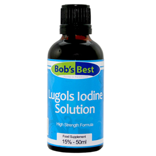 Bob's Best 15% Lugol's Iodine Solution 50ml