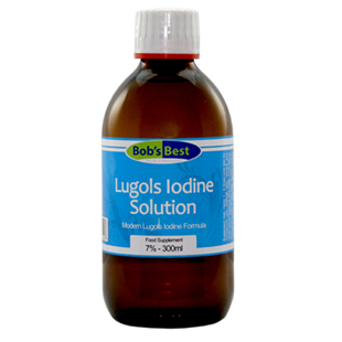 Bob's Best 7% Lugol's Iodine Solution 300ml