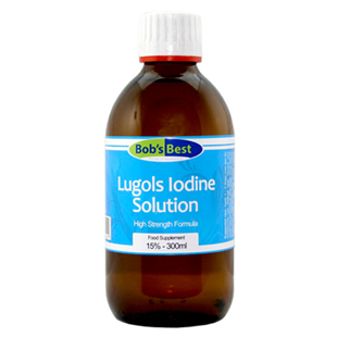 Bob's Best 15% Lugol's Iodine Solution 300ml