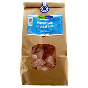 Bob's Best Himalayan Crystal Rock Salt 1kg