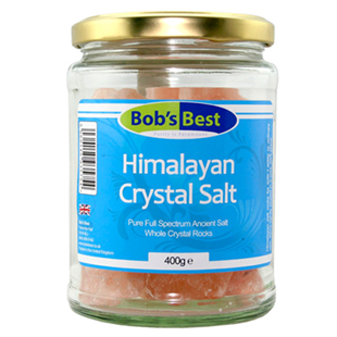 Bob's Best Himalayan Crystal Rock Salt 400g