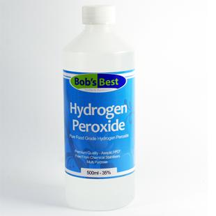 35% Food Grade Hydrogen Peroxide 500ml