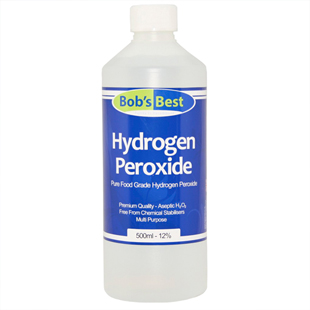 12% Food Grade Hydrogen Peroxide 500ml