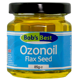 Bob's Best Ozonated Flax Seed Oil 85g