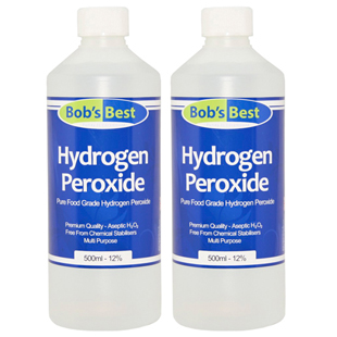 12% Food Grade Hydrogen Peroxide 1000ml
