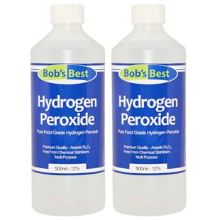 12% Food Grade Hydrogen Peroxide 1000ml