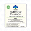 Detailed View of Activated Charcoal 300g Label