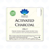 Detailed View of Activated Charcoal 150g Label
