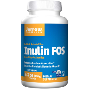 Jarrow Formulas Inulin FOS Powder 180g