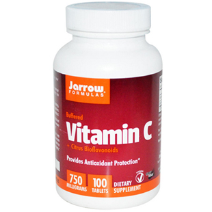Jarrow Formulas Buffered Vitamin C 100 750mg Tablets