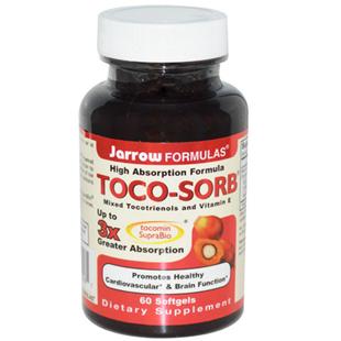 Jarrow Formulas Toco-Sorb Vitamin E 60 Softgels