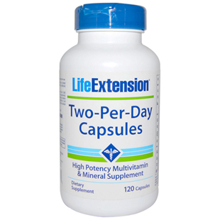 Two-per-Day Vitamin Capsules