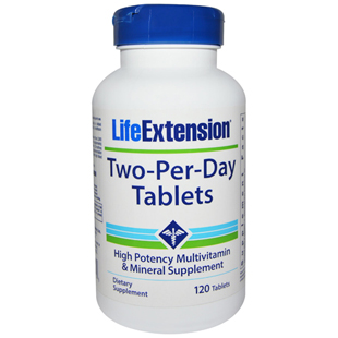 Two-Per-Day Multivitamin & Mineral Tablets