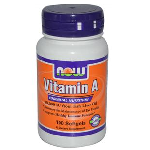 Now Foods Vitamin A 100 10000iu Softgels