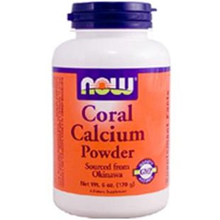 Now Foods Coral Calcium Powder 170g