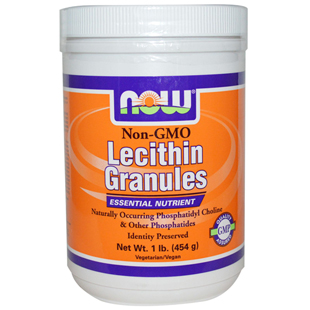 Lecithin Granules Non-GMO 454g by Now Foods