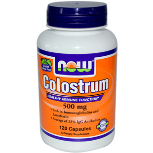 Now Foods Colostrum 500mg 120 Capsules