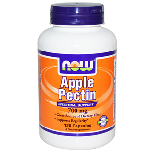 Now Foods Apple Pectin 700mg 120 Capsules